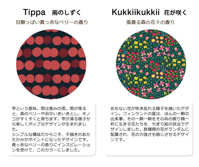 キッピス(kippis)トリートメントワックス|雨のしずく・花が咲く